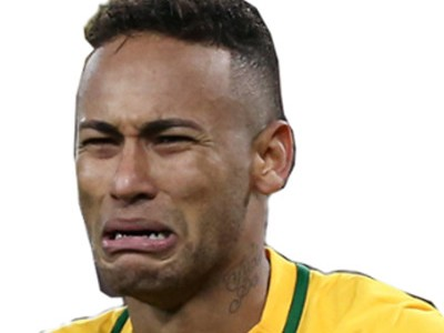 Sticker other foot neymar pleur snif