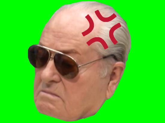Sticker politic jean marie le pen jmlp fn front national