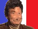 Sticker jesus armee guerre gueule casee pixel frwar