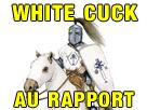 Sticker other white knight cuck
