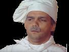 Sticker risitas inconnus mal jai didier bourdon sketch humour cuisinier moustache