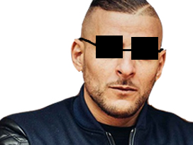 Sticker other sofiane classe lunette rap soleil