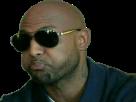 Sticker risitas booba bouche lunette rap fr qlf