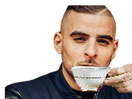 Sticker other sofiane tasse delire rap toka cafe the