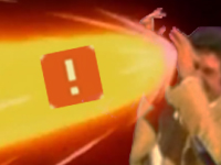 Sticker risitas jesus mains bras vague deferlante dbz dragon ball z boule de feu ddb