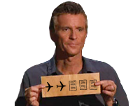 Sticker other denis brogniart koh lanta bulletin 11 septembre 2 avions 3 tours la chance attentat