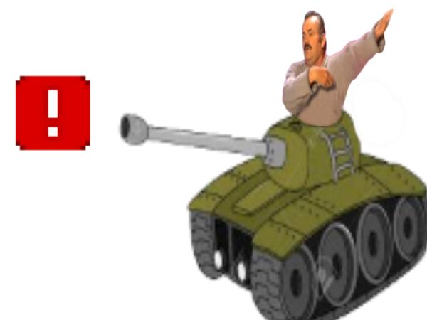 Sticker ddb tank risitas militaire armee ban