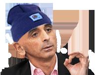 Sticker politic eric zemmour bonnet doigt main