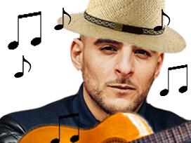Sticker other sofiane guitare chant musique rap chapeau note paysan
