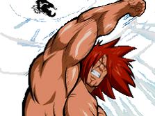 Sticker kikoojap uppercut manga ichiya fairy tail super punch muscle biscoto