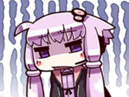 Sticker yuzuki yukari kikoojap vocaloid deprime
