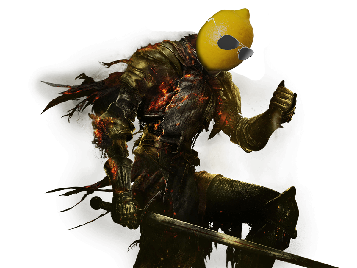 Sticker other dark souls citron