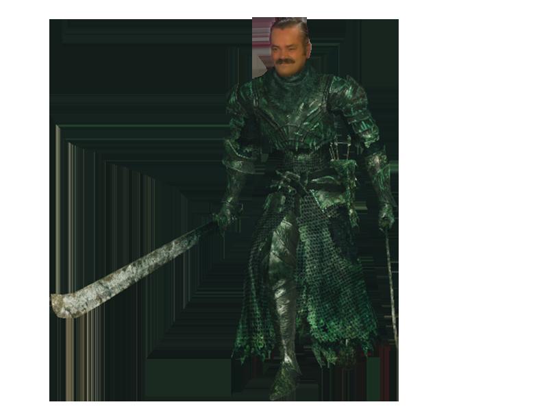 Sticker dark souls armure chevalier risitas