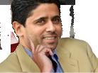Sticker risitas nasser perplexe psg al khelaifi