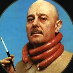 Sticker other professeur choron cigarette