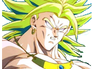 Sticker kikoojap broly surpris dbz