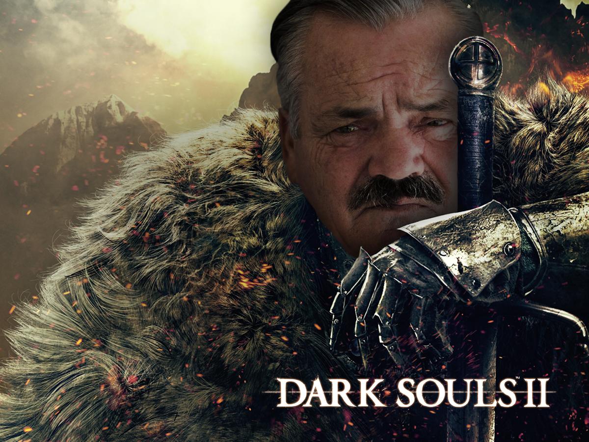 Sticker dark souls risitas epic jeu chevalier