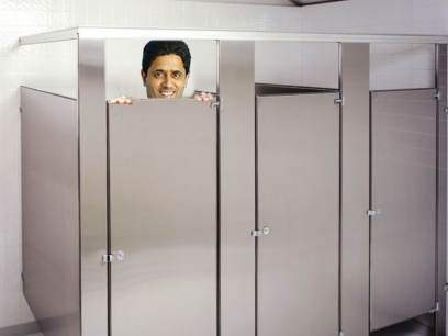 Sticker other nasser cache psg paris saint germain al khelaifi toilette