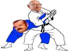 Sticker larry risitas judo ju jitsu victime celestin chance