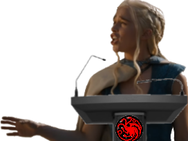 Sticker other dany daenerys targaryen got game of thrones discours