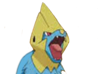 Sticker other elecsprint manectric pokemon pkmn angry mechant colere