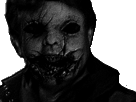 Sticker risitas jesus creepy issou horror