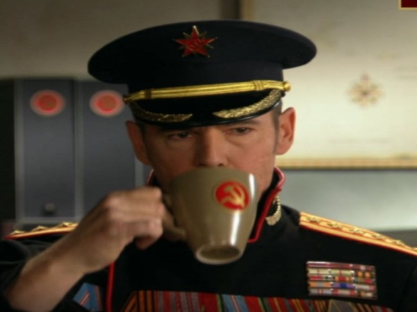 Sticker politic urss russie mug