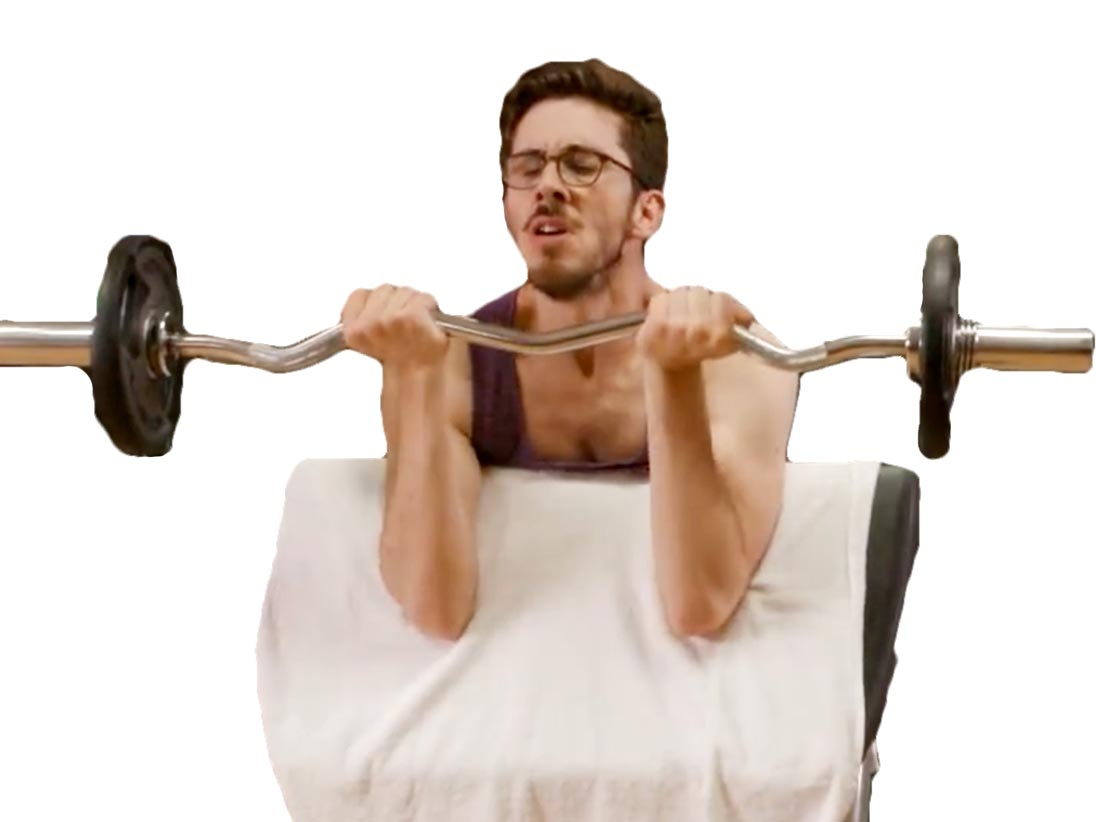 Sticker other kemar muscu musculation sport barre fonte poids curl ez pupitre force fitness salle gym
