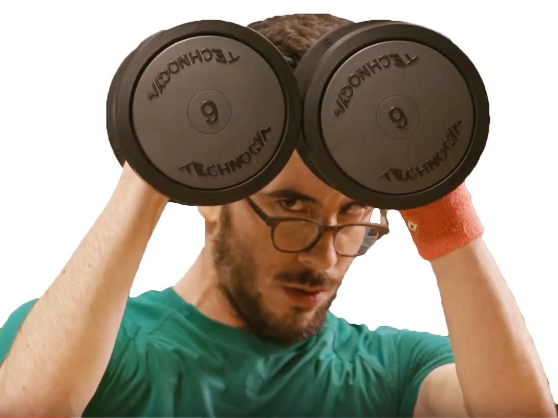 Sticker other kemar muscu musculation sport fonte cache malaise halteres fitness salle gym