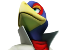 Sticker other starfox falco zero wii u defi fier sourire regarde leve tete haut look up tinnova