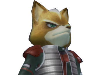 Sticker other starfox mc cloud assault gamecube gc oui chef general armee militaire obeir garde a vous determine okay daccord tinnova