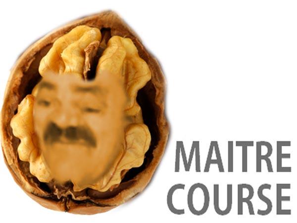 Sticker risitas noix grenoble maitre course master race oleagineux