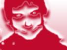Sticker risitas jesus bizzare shelou deforme etrange horrible demon argent