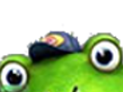 Sticker other starfox slippy toad zero wii u surprise etonne coucou salut surgir regarde fixe grenouille crapaud furry zoom tinnova