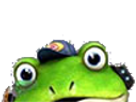 Sticker other starfox slippy toad zero wii u surprise etonne coucou salut surgir regarde fixe grenouille crapaud furry tinnova