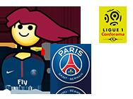 Sticker jvc master race maitre course paris psg foot football ff ligue 1 neymar nasser