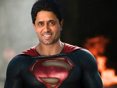 Sticker other nasser al khelaifi superman super man paris psg