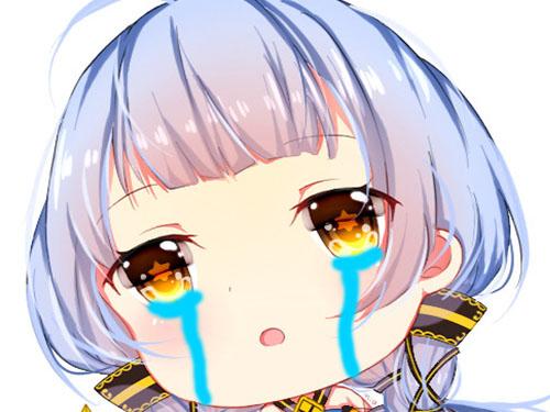 Sticker kikoojap stardust pleure tristesse