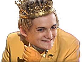 Sticker joffrey got rire