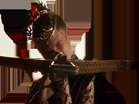 Sticker joffrey arbalete roi