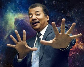 Sticker risitas science qi tyson race noir ingenieur afrique niel degrasse