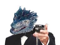 Sticker drogon got dragon verre glass gatsby