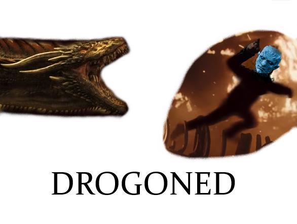 Sticker other drogon got nightking drogoned dragon