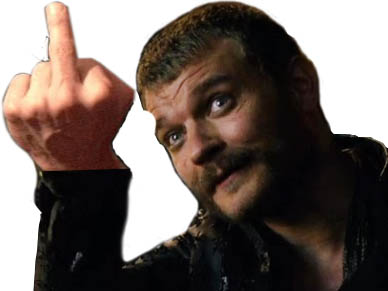 Sticker other euron doigt dhonneur finger in the bum got game of thrones