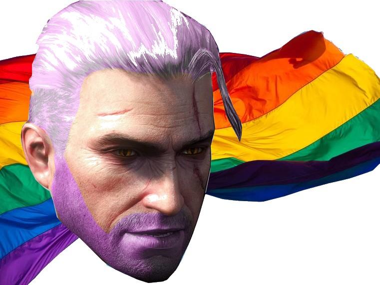 Sticker other geralt gay lgbt netflix