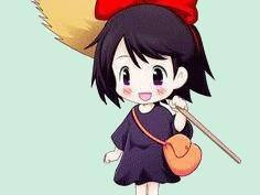 Sticker kikoojap kiki kiki la petite sorciere anime