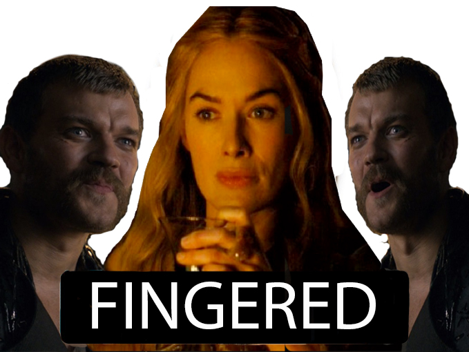 Sticker other euron blacked fingered cersei got game of thrones