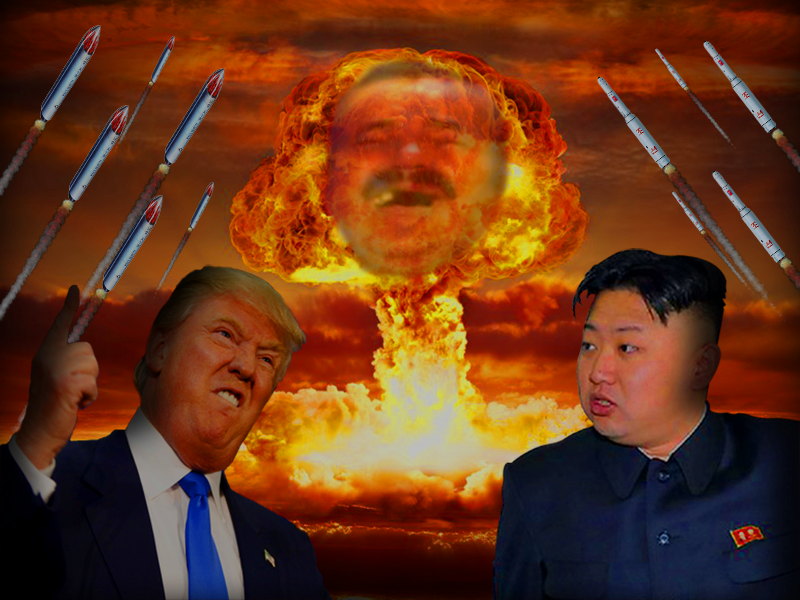 Sticker risitas coree du nord kim jong un wwiii atome