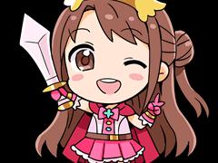 Sticker kikoojap uzuki idolmaster anime