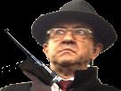 Sticker risitas melenchon gestapo staline fi insoumis flingue gun